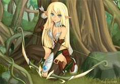 Nature Fairy 751118cdcd2faf32f713e40303147eb4--anime-elf-manga-anime