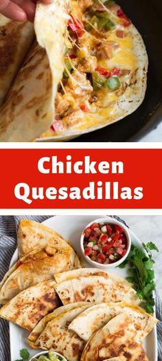 Mexican Dishes, Mexican Food Recipes, Dinner Recipes, Frugal Meals, Easy Meals, Torta Recipe, Metabolism Foods, Tortilla Rolls, Quesadilla Recipes