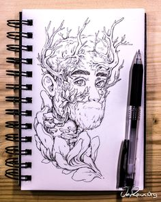 Sketchbook Drawing Sketches by JeyRam art drawing sketch # Sketchbook Drawings, Cool Art Drawings, Drawing Sketches, Sketchbook Ideas, Kunst Inspo, Art Inspo, Fantasy Kunst, Fantasy Art, Character Art