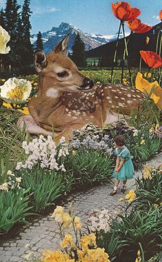 This is another collage from Eugenia Loli, and I love it for all the same reasons. This one especially, and I love the vintage feel.