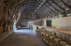 Skälso Arkitekter - Kalkladen - Barn Transformation, Bungenäs, Gotland - 2013