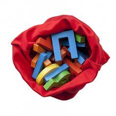Большой набор разноцветных букв