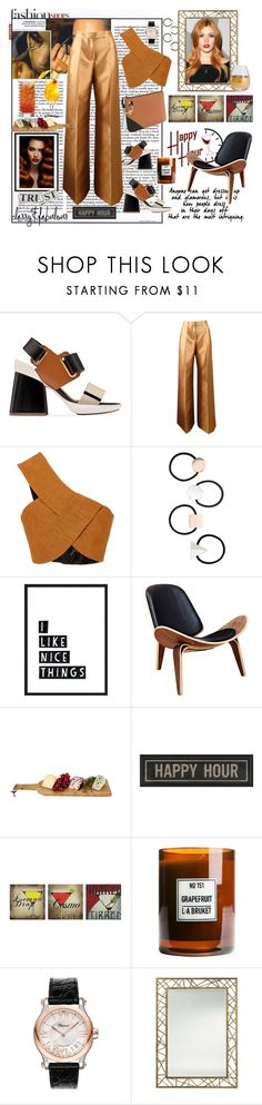"""""""Happy Hour: Whitney"""" by ashliyourstrulyx ❤ liked on Polyvore featuring Marni, Antonio Berardi, Rosetta Getty, Miss Selfridge, Grace, The Artwork Factory, Ink & Ivy, Carnill & Company, Chopard and Arteriors"""