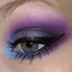 purples, blues, greys