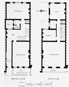 190 Townhouses British Ideas Floor Plans How To Plan Townhouse