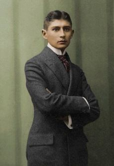 Frank Kafka / Czech writer from Prague.  One of the most interesting persons to study and read.  Gave us The Trial, The Castle, the Metamorphisis, and short stories to be read over and over; intriguing and dark.