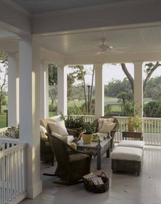 Porch/outdoor living with a view