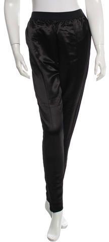 Céline Satin Skinny Pants Celine, Phoebe Philo, Satin, Women Pants, Skinny Pants, Legs, Stylish, Collection, Black