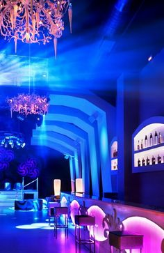 Night Club inspired by ice-caverns — ARCHITECTURELOVER.COM