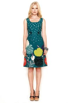 Maiocchi Bye Birdy Dress - Womens Knee Length Dresses at Birdsnest Women's Clothing