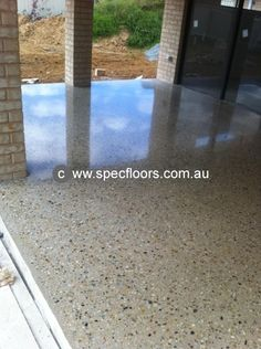 See Spec Floors for spectacular concrete finishing, including polished, coloured and textured finishes