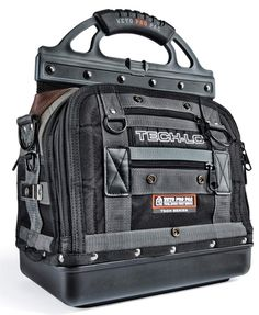 Veto Pro Pac TECH-LC Heavy Duty Tool Bag The TECH-LC is a service technician version of the original Model LC. A number of changes have been made to tailor the bag to accommodate HVAC service technici Tool Pouch, Tool Belt, Belt Pouch, Hvac Tool Bags, Hvac Tools, Belt Storage, Tool Storage, Electrical Tape, Dremel