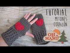 Fingerless gloves or mittens crochet step Crochet Fingerless Gloves Free Pattern, Crochet Headband Pattern, Fingerless Gloves Knitted, Crochet Patterns, Crochet Hooded Scarf, Crochet Beanie, Crochet Winter, Crochet Videos, Crochet Accessories