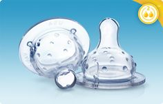 Nipples, Wide Neck, Medium Flow Feeding Nipples. The Medium Flow Nûby™ Nipple features a medium sized valve opening that is perfect for milk. I