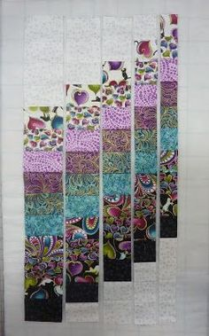 Hi! Ann Lauer here for a Technique Tuesday post using my new Cat-I-Tude fabric collection. I love to make bargello quilts. They ha...