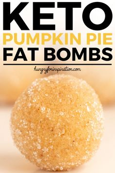 Healthy No Bake Pumpkin Pie Keto Fat Bombs that'll satisfy your sweet tooth and give you that cozy fall feeling in no time! They are a perfect Keto Dessert or Keto Snack and can be easily made Paleo & Vegan! Only net carbs per serving! Paleo Vegan, Vegan Keto Recipes, Vegetarian Keto, Diet Recipes, Seafood Recipes, Pumpkin Pie Fat Bombs, Keto Pumpkin Pie, Baked Pumpkin, Pumpkin Spice