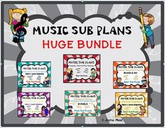 *** SPECIAL REDUCED PRICE $15.00 ***This product is great for DISTANCE LEARNING as well as the elementary Music classroom!Overview: This BUNDLE includes a total of 40 MUSIC SUB PLANS!If purchased separately, the total would be $28.00. This is a $13.00 savings!THESE ARE LESSONS THAT A NON-MUSIC SUB C... Music Education Activities, Learning Resources, Physical Education, Teaching Ideas, Health Education, Art Education, Music Sub Plans, Music Classroom, Music Teachers