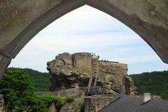 Burgruine Aggstein Salzburg, Vienna, Austria, Mount Rushmore, Mountains, Nature, Travel, Viajes, Traveling