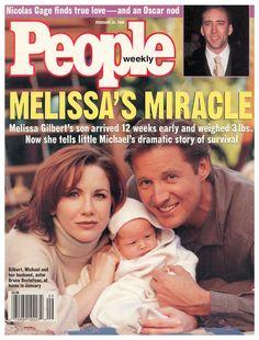 Melissa Gilbert-----& Bruce B, People Cover, feb 26, 1996