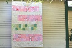 Pretty quilt for little girl
