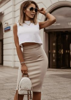 Mode Outfits, Fashion Outfits, Womens Fashion, Cute Casual Outfits, Stylish Outfits, Spring Summer Fashion, Spring Outfits, Mode Simple, Looks Style
