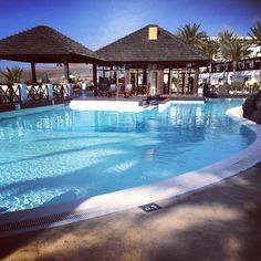Pool bar. Hesperia hotel, Lanzarote