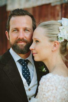 The groom | Country wedding | Ashley Oostdyck