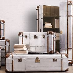 Trunk Coffee Tables   Bring In The Silver