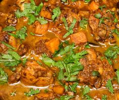 In The Kitchen With Kanta : Chicken and Sweet potato curry