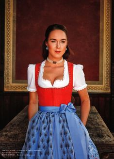 Dirndl Dress, Gold Bullion, Maid Dress, Feminine Dress, Western Dresses, Traditional Dresses, Sexy Dresses, Preppy, Two Piece Skirt Set