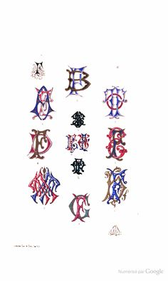 Signatures: An alphabet of monograms, designs for the use of engravers  - Henry Lillie - Google Livres