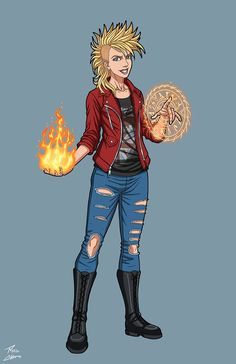Young Abigail Constantine OC commission by phil-cho on DeviantArt Superhero Characters, Hero Academia Characters, Comic Book Characters, Comic Character, Character Concept, Female Characters, Character Design, Marvel Dc Comics, Marvel Heroes