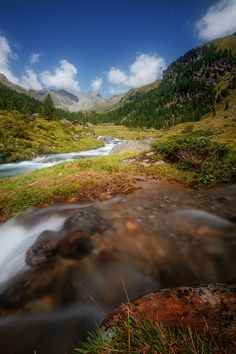 Alpine River 3 by Wolfgang Moritzer on 500px