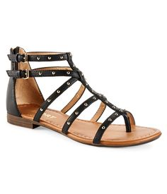 I need gladiator sandals... I'd really like them in gold though.