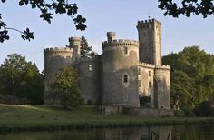 Ever wanted to own your own castle? Well here is the real estate website!  Chateau for sale in France: Château de Montbrun. Private sale.