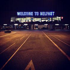 Belfast International Airport (BFS) in Antrim, Antrim