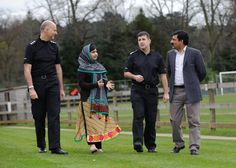 Twitter / WMPolice: Malala and her father met the ...