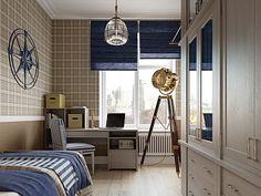 Дизайн интерьера квартиры в классическом стиле в ЖК Парадный квартал от Студии Павла Полынова