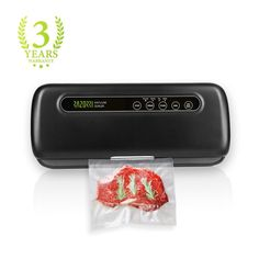 Razorri Vacuum Sealer Machine Automatic Vacuum Sealing System for Food Sous Vide with Free 5 Starter Kit Vacuum Bags and Roll, Dry / Moist Mode Speed Selectable Food Sealer Food Preservation Food Packaging Machine, B Food, Freezer Burn, Sous Vide Cooking, Best Vacuum, Specialty Appliances, Vacuum Bags, Small Kitchen Appliances, Preserving Food