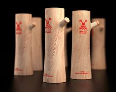 Firewood Vodka Packaging - Have a shot of a distilled alcoholic spirit and your throat will instantly feel warm. Firewood Vodka packaging has been designed to invoke that com. Alcohol Bottles, Liquor Bottles, Vodka Bottle, Apothecary Bottles, Clever Packaging, Brand Packaging, Food Packaging, Design Packaging, Bottle Packaging