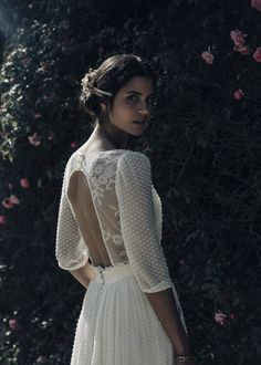 Laure de Sagazan's French Wedding Dresses Are Perfect for the Indie Bride | Brides