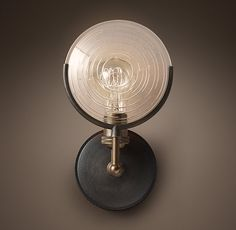 Restoration Hardware - RH - Gaslight Lens Sconce