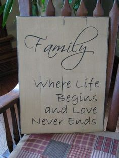 Let those visit see your love for your family with our Family wooden sign. This would compliment other country decor from Primitive Star Quilt Shop.