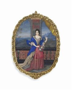 Madame de Montespan, 1680, French school