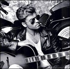 "barklyvanish: "" ""George Michael (Wham!) (1987) #1987 #george michael #wham…"