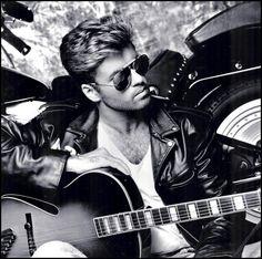 "barklyvanish: "" ""George Michael (Wham!) (1987) #1987 #george michael #wham…"