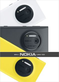 enter to win a Nokia Lumia 1020 http://www.weddingchicks.com/2013/10/15/nokia-lumia-1020/