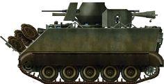 M113A1 ACAV with M40 Recoiless gun.