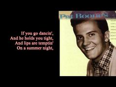 Remember You're Mine - Pat Boone - YouTube