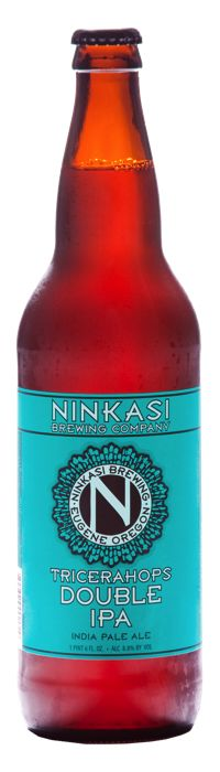 Ninkasi Tricerahops Double IPA #beer #brewing #craftbeer #IPA